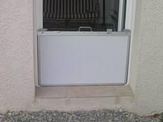 ... Panneau Anti Inondation En PVC Blanc ...